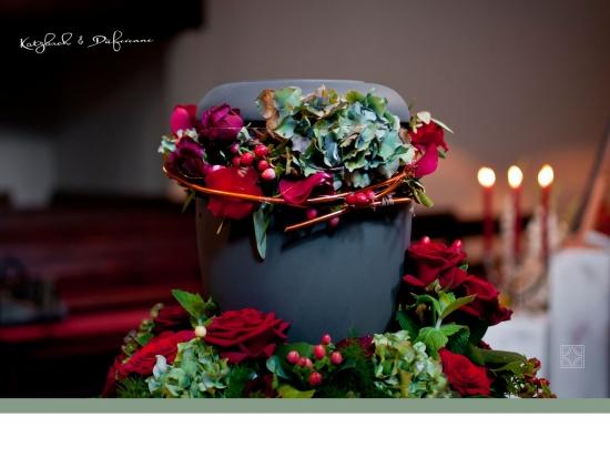 Blumenring für Ringurne